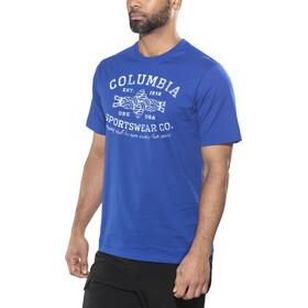 Columbia Rough N' Rocky T-shirt Homme, azul